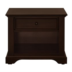 Million Dollar Baby Classic Tilsdale Nightstand in Rich Walnut