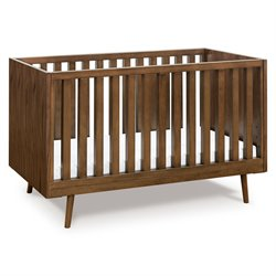 Ubabub Nifty Timber 3 in 1 Crib in Walnut