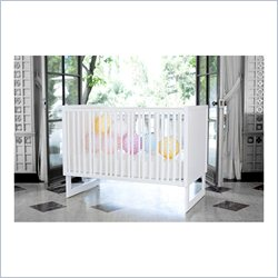 Nursery Works Loom Crib in Snow Frame
