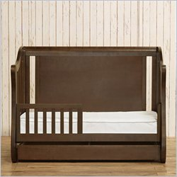 Franklin & Ben Mayfair 4-in-1 Convertible Crib in Rustic Brown