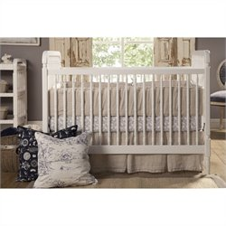Franklin & Ben Liberty 3-in-1 Convertible Crib in White