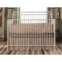 Franklin & Ben Winston 4-in-1 Convertible Crib in Washed White