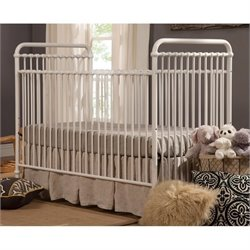 Franklin & Ben Abigail 3-in-1 Convertible Crib in Washed White