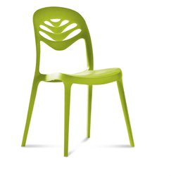 Domitalia ForYou2 Armless Stacking Chair in Green