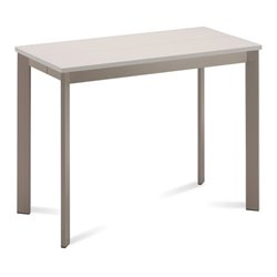 Domitalia Mondo Console Table Taupe Mat Lacquered