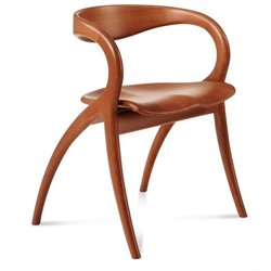 Domitalia Star Dining Chair in Cherry Brown
