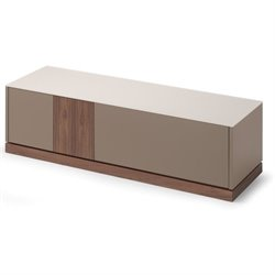 Domitalia Contour TV Stand in Taupe