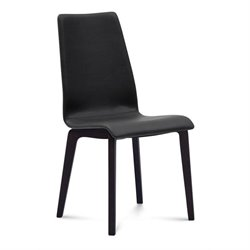 Domitalia Jill Dining Chair in Skill Black and Anthracite