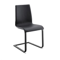 Domitalia Jude Dining Chair in Skill Black and Anthracite