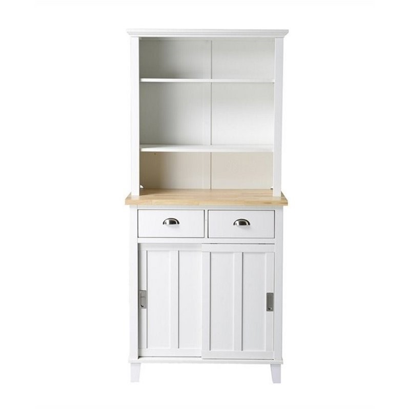 Homestar Bard Kitchen Center in White