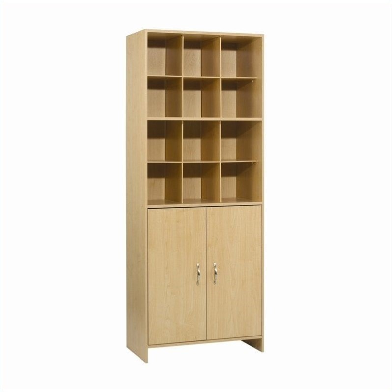 12 Compartment Organizer Tower in Birch Laminate