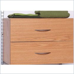 Homestar 2 Drawer Organizer in Maple Laminate