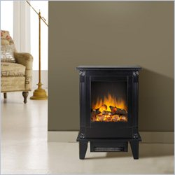 Homestar Barcelona Electric Stove in Painted Black