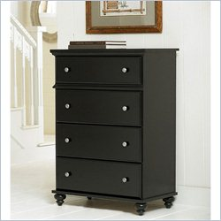 Homestar Renovations by Thomsville 4 Drawer Dresser in Vintage Ebony