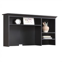 Homestar Renovations by Thomsville 2 Shelf Tall Desk Hutch in Vintage Ebony