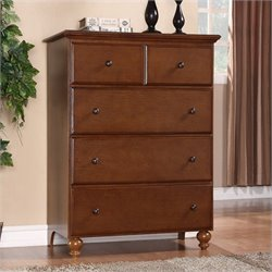 Homestar Renovations by Thomsville 4 Drawer Dresser in Chestnut