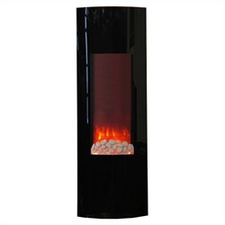 Yosemite Tower Yuna 42'' Wall-Mount Electric Fireplace