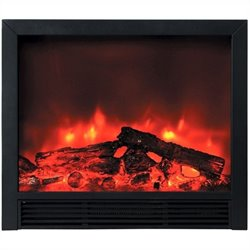 Yosemite Triton Insert Electric Fireplace in Black