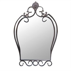 Yosemite Decorative Iron Mirror