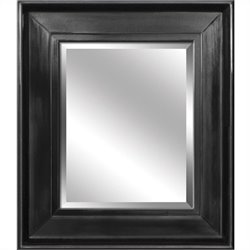 Yosemite Rectangular Black Framed Mirror