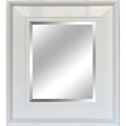 Yosemite White Framed Mirror
