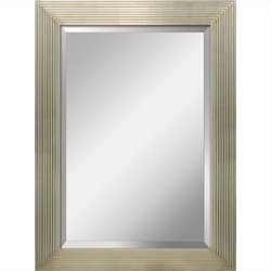 Yosemite Decorative Mirror in Satin Gold