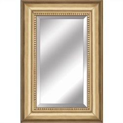 Yosemite Mirror with Warm Gold Finished Frame