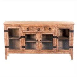 Yosemite Display Console in Naturalled Mango