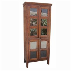 Yosemite Transitional 10 Panel Display in Light Coffee