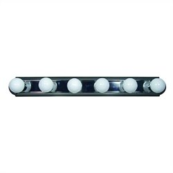 Yosemite Home Decor 6 Lights Vanity Lighting in Satin Nickel