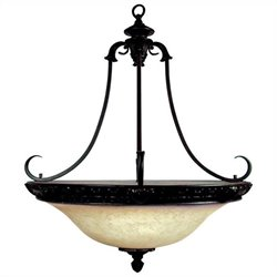 Yosemite Home Decor Verona 4 Lights Pendant Lighting in Bronze