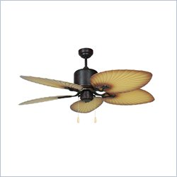 Yosemite Home Decor California Breeze 52inch Oil Rubbed Bronze Outdoor Ceiling Fan