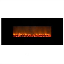 Yosemite Home Decor 54inch Wall-mount Non-heater Fireplace
