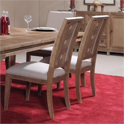 A.R.T. Furniture Ventura Dining Side Chair in Cerused Oak