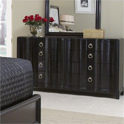 A.R.T. Furniture Cosmopolitan 8 Drawer Dresser in Ebony