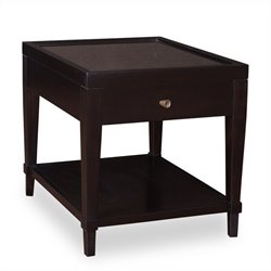 A.R.T. Furniture Cosmopolitan 1 Drawer End Table in Ebony