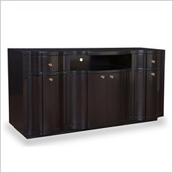 A.R.T. Furniture Cosmopolitan Entertainment Console in Ebony