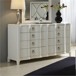 A.R.T. Furniture Cosmopolitan 8 Drawer Dresser in Parchment