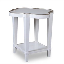 A.R.T. Furniture Cosmopolitan Shaped End Table in Parchment