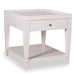 A.R.T. Furniture Cosmopolitan 1 Drawer End Table in Parchment