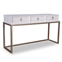 A.R.T. Furniture Cosmopolitan Console Table in Parchment