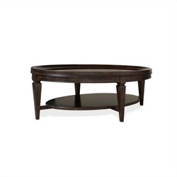 A.R.T. Furniture Classics Oval Cocktail Table in Brindle