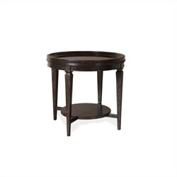 A.R.T. Furniture Classics Round Lamp Table in Brindle
