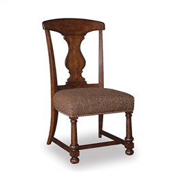 A.R.T. Furniture Whiskey Oak Splat-back Side Chair in Warm Barrel Oak