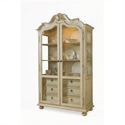 ART Furniture Provenance Display Cabinet in Linen