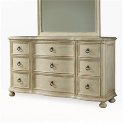 ART Furniture Provenance 9 Drawer Triple Dresser in Linen