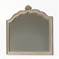 ART Furniture Provenance Crowned Landscape Mirror in Linen
