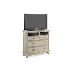 ART Furniture Provenance Media Chest in Linen
