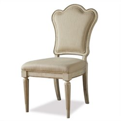 ART Furniture Provenance Upholstered Back Side Chair in Linen