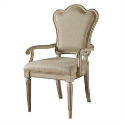 ART Furniture Provenance Upholstered Back Arm Chair in Linen
